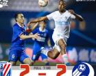 2020年中超联赛第四轮上海申花对阵大连人 上海申花和大连人2比2踢平