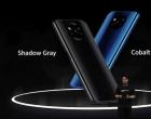 Poco X3 NFC有两种颜色选择:钴蓝色和暗灰色