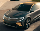 雷诺梅根eVision预览全新的电动SUV