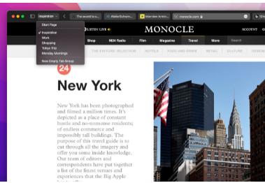 Apple macOS 12 Monterey引入了新的Safari重新设计