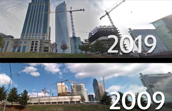 夏洛特中心城市集团在新的2040年计划中设定了这些目标