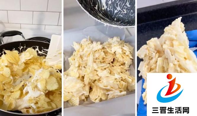 薯片棉花糖方块的制作方法