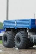 3辆专为远北地区工作而设计的俄罗斯卡车