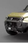 UAZ Bor渲染如何成为真正的汽车